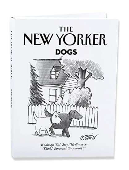amazon com the new yorker dog cartoons notecard wallet pack of 10