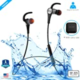 ZAAP Aqua Magneto IP-X5 Wireless 4.1 Bluetooth Waterproof Headphone