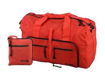 ab1fb0f3a Skypak 90L Folding Travel Bag (Red): Amazon.co.uk: Luggage