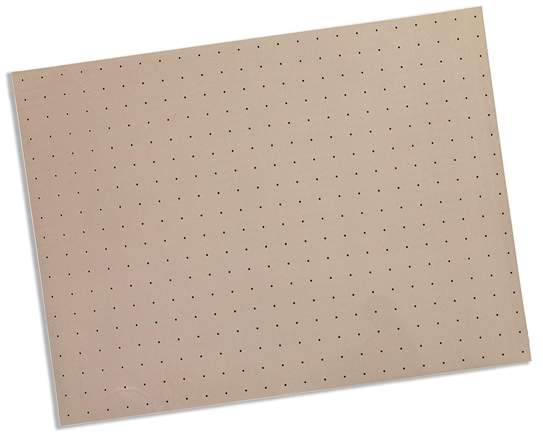 Rolyan Splinting Material Sheet, Kay-Splint II, Blush, 1/8'' x 18'' x 24'', 1% Perforated, Single Sheet