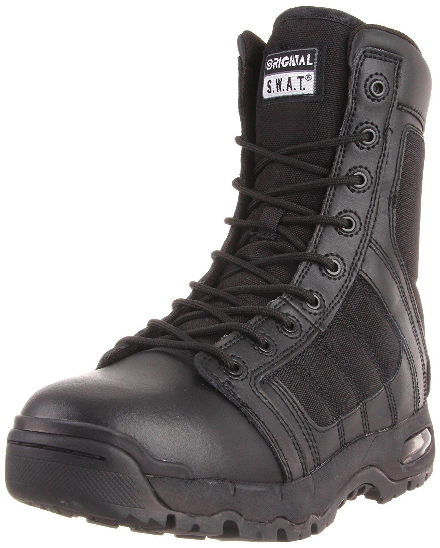 Original Swat Men's Air 9'' Side Zip Boots,Black,12 M