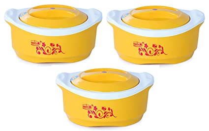 Buy FRESHCO CASSEROLES Maple Jumbo 3 PCS Set (1200, 2400, 3600 ML