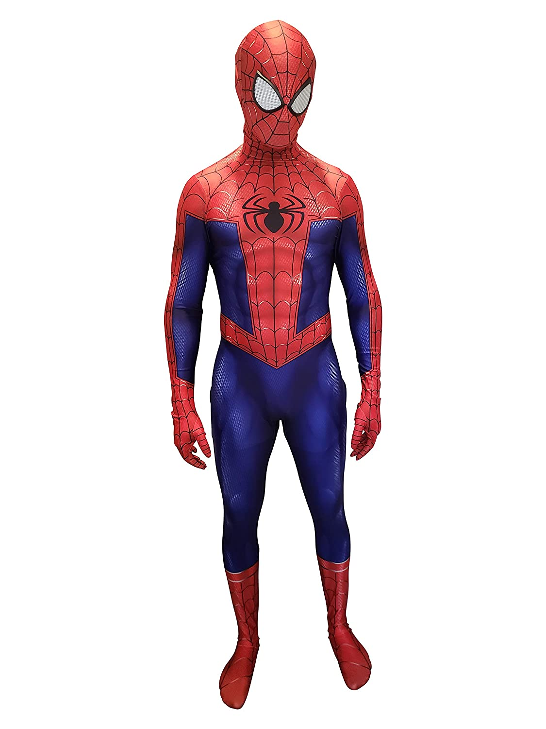 Spider-Man Cosplay Costume | Iron Spider | PS4 Insomniac Spiderman | Bagley | Superior |All Lycra Fabric | Bodysuit