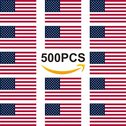 American flag stickers patriotic sticker roll of stickers 2 width usa stickers