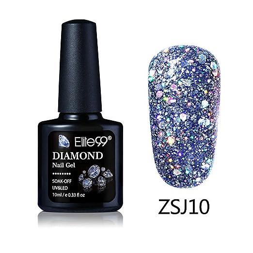 141 opinioni per Elite99 Smalto Semipermente per Unghie in Gel UV LED Colori Kit per Manicure