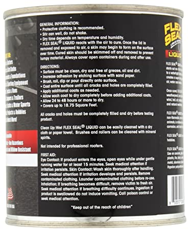 Flex Seal Liquid Rubber in a Can, 16-oz, White