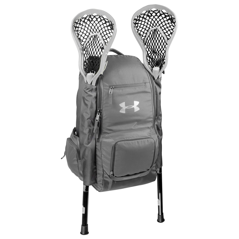 Under Armour UASB-LBP2 Graphite LAX Lacrosse Backpack Gear Bag