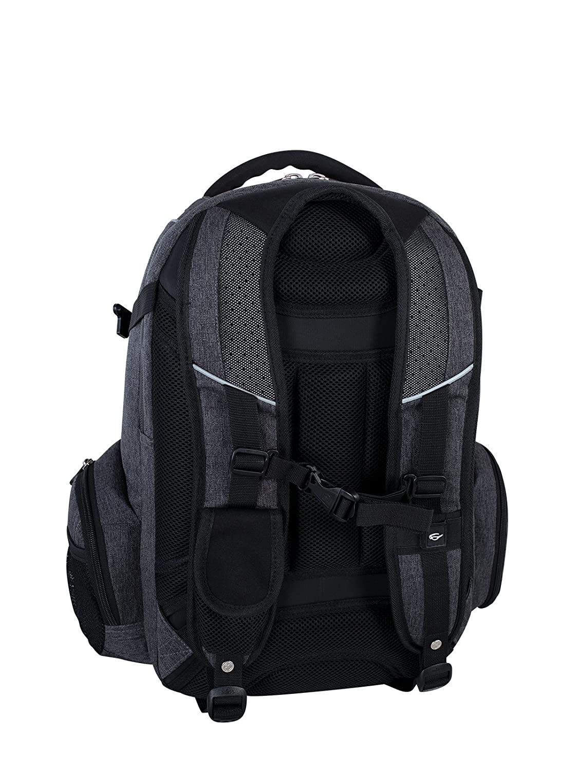 Black Fits 15.6-Inch to 17.3-Inch Laptop Swiss Gear International Carry-On Size Rainproof Backpack for Laptop