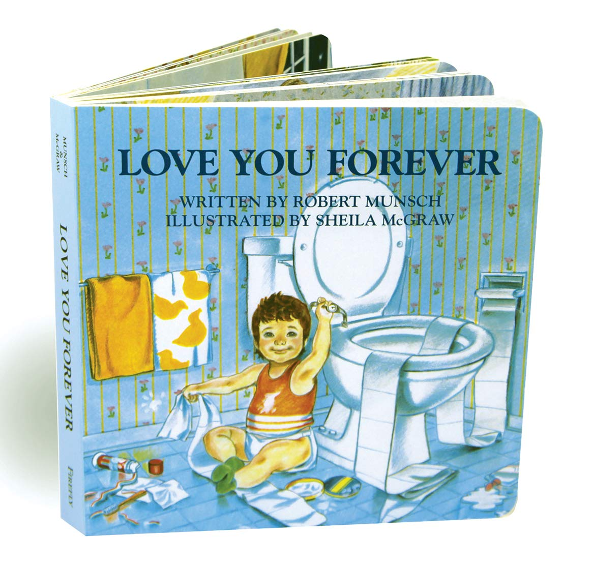 Love You Forever: Munsch, Robert, McGraw, Sheila: 9780228101048: Books -  Amazon.ca