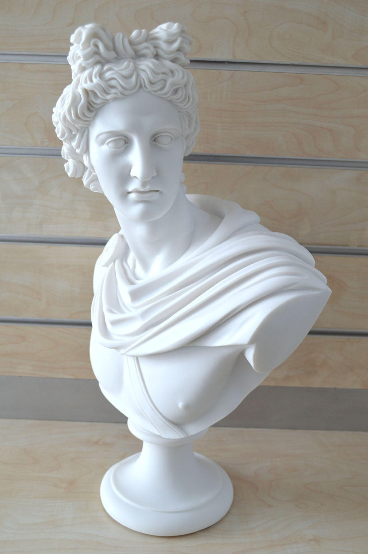 God Apollo Bust Sculpture Ancient Greek God of Sun and Poetry Grand Statue by Estia Creations (Image #2)