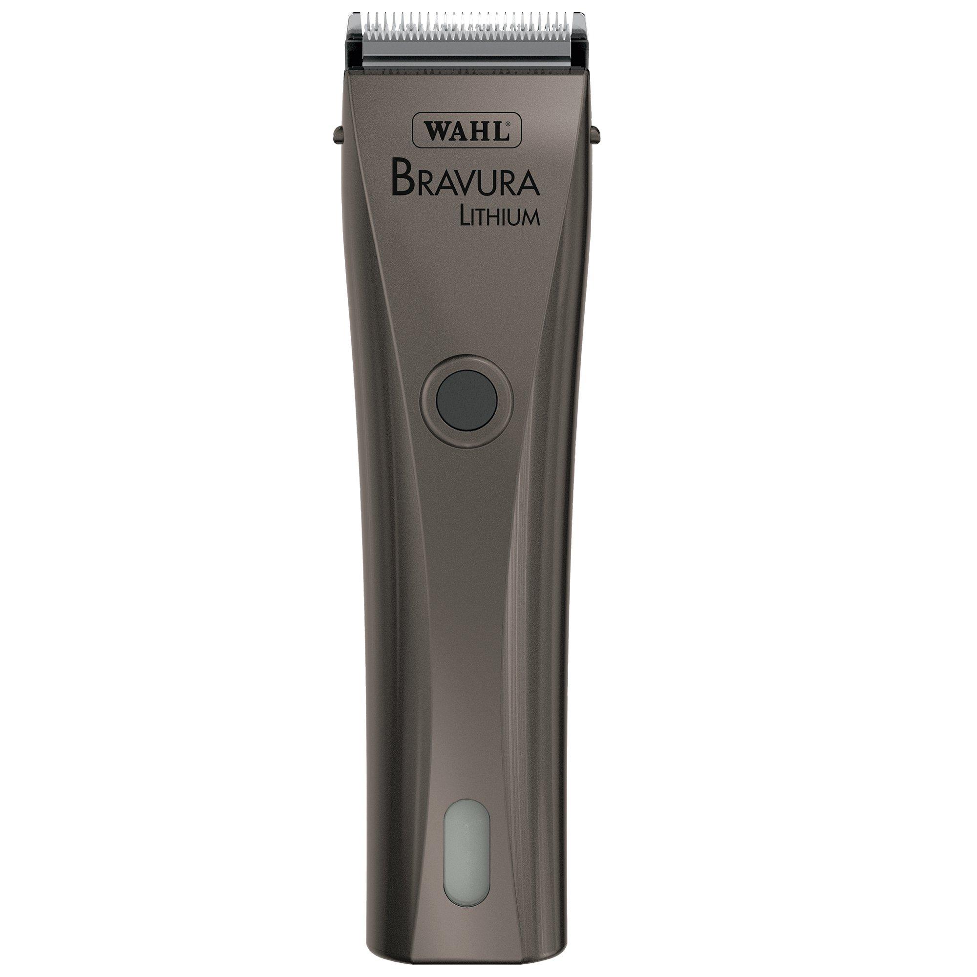 Wahl Professional Animal Bravura Lithium Gunmetal Clipper #41870-0425