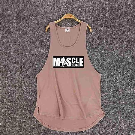 NSBXDWRM Tank Top Hombre,Chicos Muscular Culturismo Camiseta ...