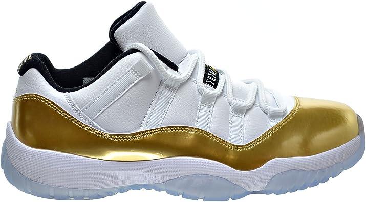 black and gold 11s jordans