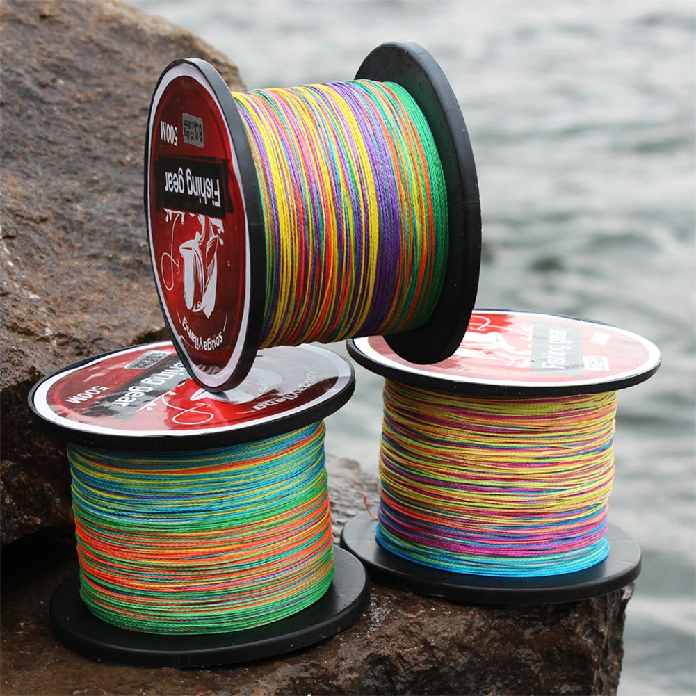 Superbraid and Braided Fishing Line