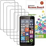 Film Protection Microsoft Lumia 640,Bingsale Pack de 6 Films de Protection d'écran pour Microsoft Lumia 640 (Microsoft Lumia 640)