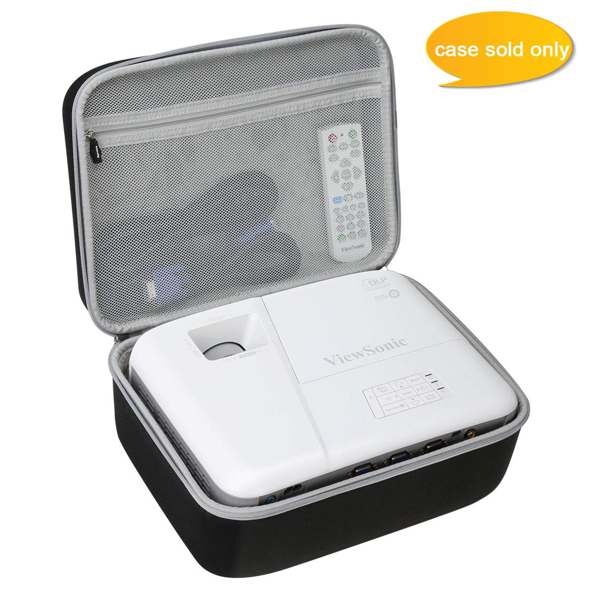 Aproca Hard Carry Travel Case fit ViewSonic 3600 Lumens SVGA High Brightness Projector (PA503S)