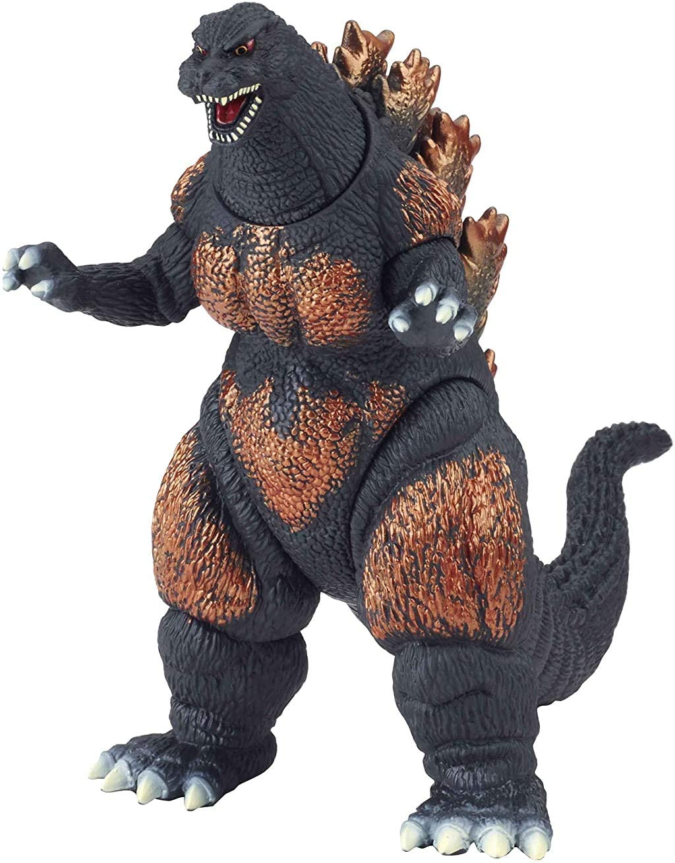 Godzilla Movie Monster Series Burning Godzilla Vinyl Figure