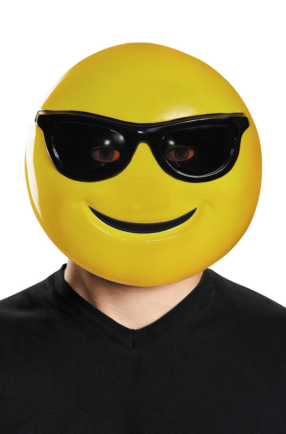 Emoji Mask Costume Accessory