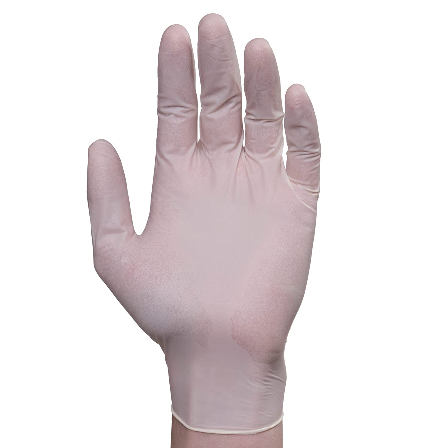 Elara FL104 Natrufit Disposable Latex Glove, Lightly Powdered, Phthalate Free, PVC Free, BPA Free, Food Service, Industrial, Janitorial, X-Large (Case of 1000)