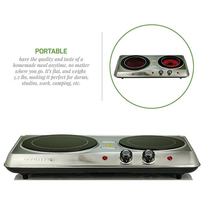 Amazon.com: Ovente - Quemador de doble infrarrojos con ...