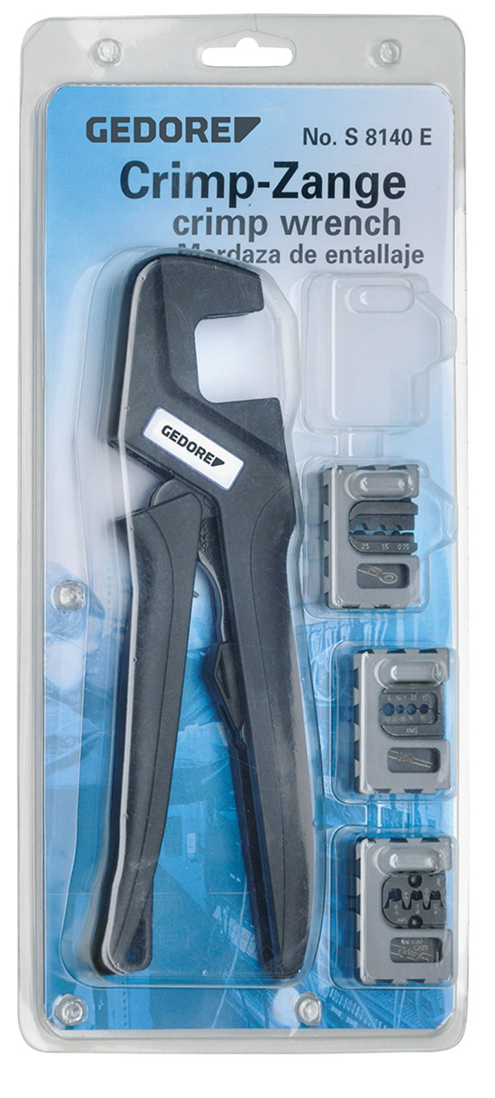 Gedore S 8140 A Crimping Pliers Set Automotive (Pack of 4)