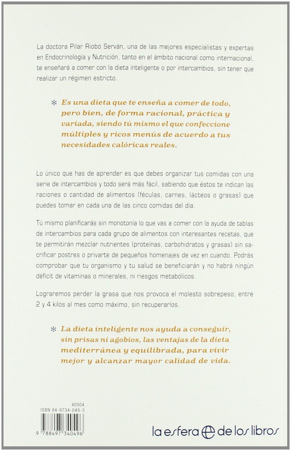Dieta inteligente, la (Psicologia Y Salud (esfera)): Amazon.es: Pilar Riobo Servan: Libros