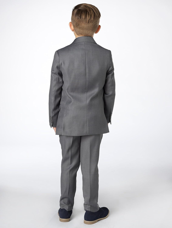 20 Paisley of London Boys Occasion Wear Sampson Slim Fit Suit Kids Wedding Suit X-Large