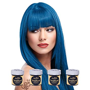 La Riche Directions Haartonung 4x 88ml Denim Blue Blau Amazon