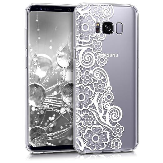 11 opinioni per kwmobile Cover per Samsung Galaxy S8- Custodia in silicone TPU- Back case