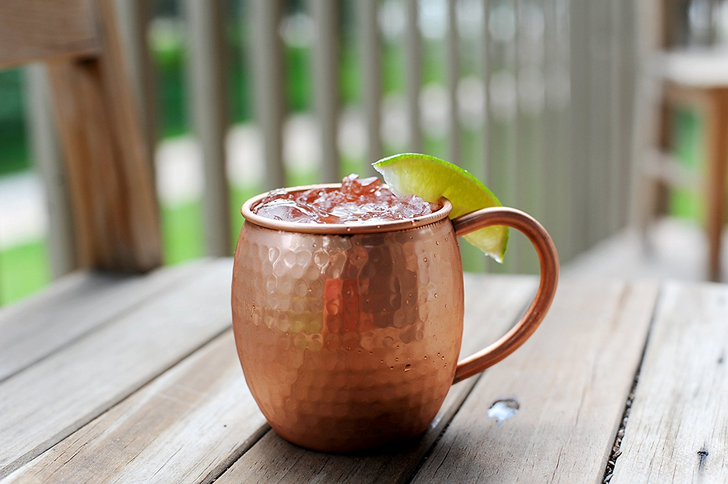 12 PACK Alchemade Copper Barrel Mug for Moscow Mules - 16 oz - 100% Pure Hammered Copper - Heavy Gauge by Alchemade (Image #4)