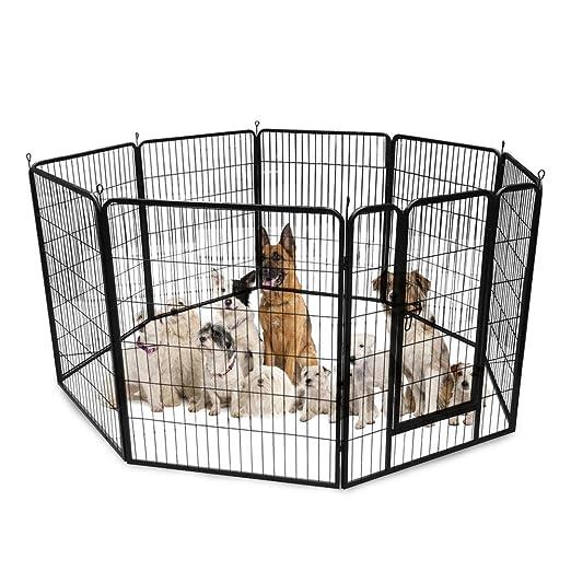 TTnight Jaula para perro con forma de jaula cuadrada para perro ...