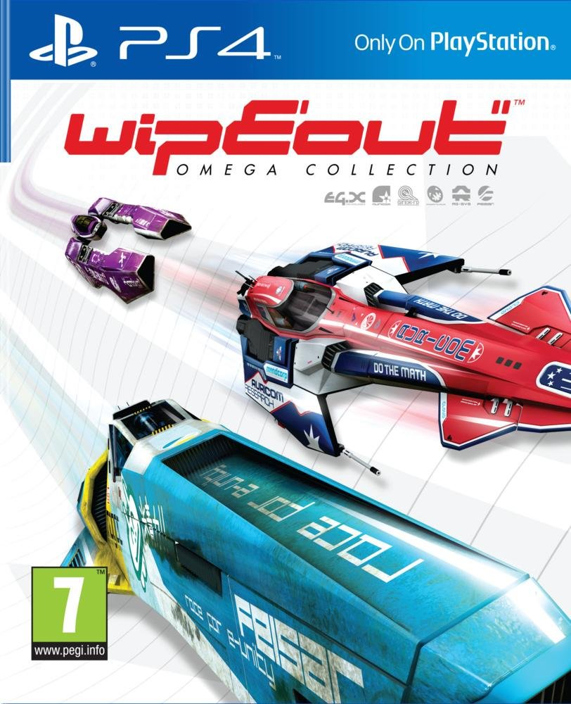 Wipeout omega collection - PS4 | Psygnosis. Programmeur