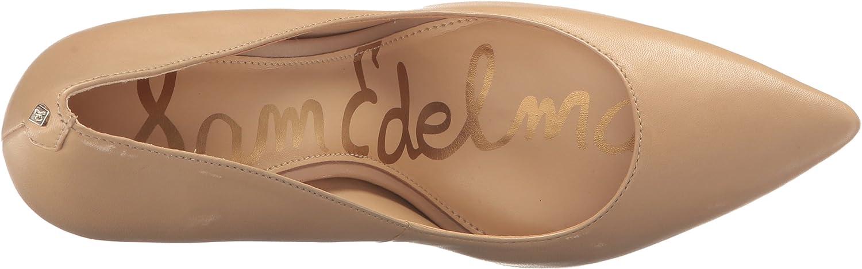 Sam Edelman Hazel, Scarpe col Tacco Punta Chiusa Donna Pelle Classic Nude