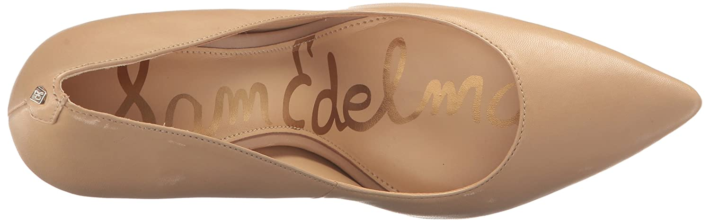 Sam Classic Edelman Damen Hazel Pumps Classic Sam Nude Leder 1ea616