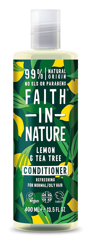 Faith in Nature - Balsamo con The 100% Naturale Per tutti I Tipi di Capelli - Per Lavaggi Frequenti - Senza Parabeni - Vegano Faith Products Ltd 6/T