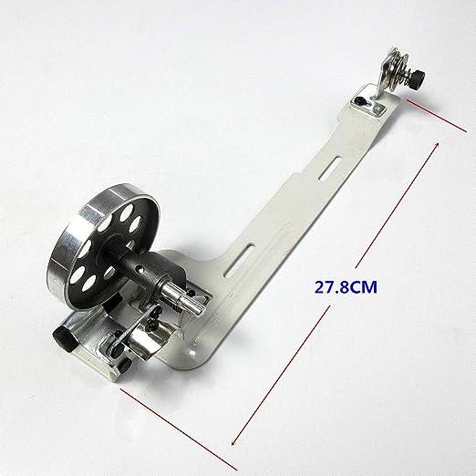 Bobina de bobina para máquina de coser industrial, rueda de 2,5 pulgadas para Consew Singer Juki Brother+: Amazon.es: Hogar
