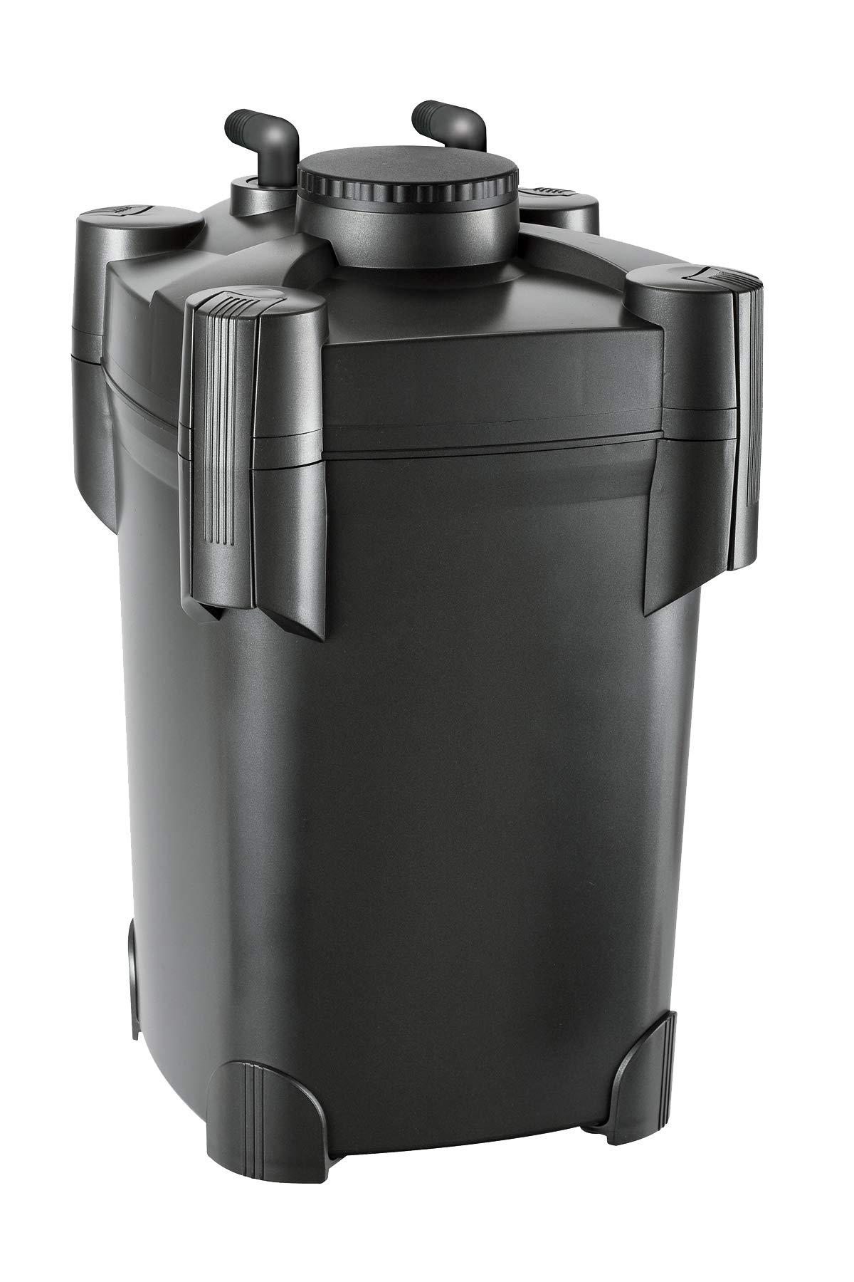 Pondmaster 5430 Danner Manufacturing Compact 1000 Gallon Small to Medium Po Pressurized Pond Filter, Black