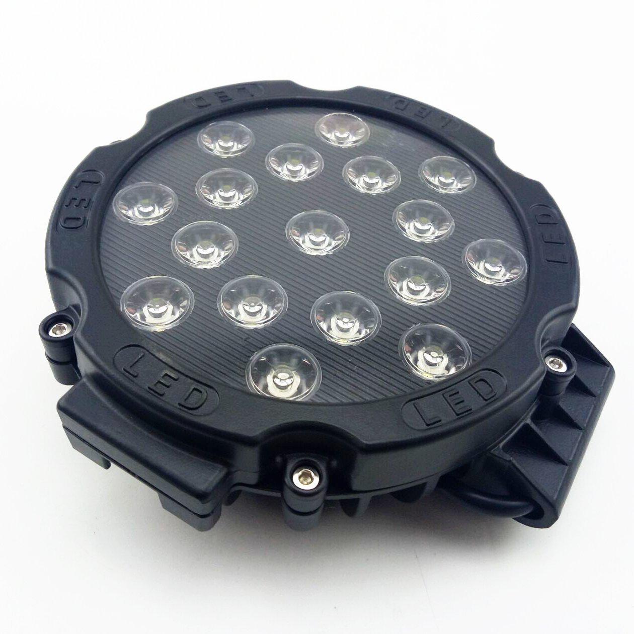 Anzene 51w Jeep Lampe für SUV Dach Stoßstange Klemmplatte auf ...