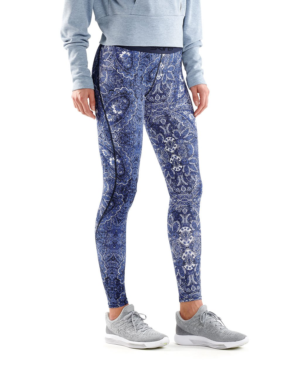 SKINS Donna DNAmic Sport Sport Sport Recovery Leggings da Donna, Donna, DNAmic Sport Recovery, Kasbah 13d9a3
