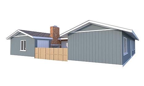 Duplex House Plans Blueprints Diy Two Bedroom House Building