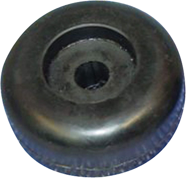x 1.75 in 2 in Yates 220-4 Black Rubber End Cap Roller x 0.5 in. C.H