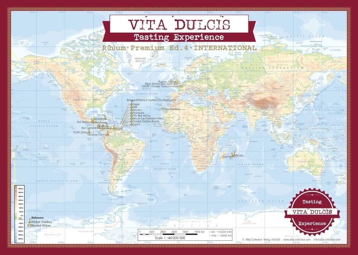 Vita Dulcis Calendario de Adviento Ron Premium Edición 4-24x0 ...
