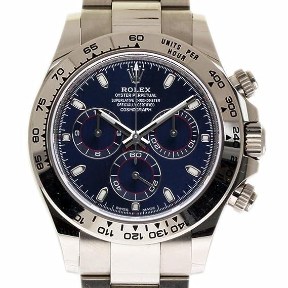 Rolex Daytona swiss-automatic Mens Reloj 116509 (Certificado) de segunda mano: Rolex: Amazon.es: Relojes