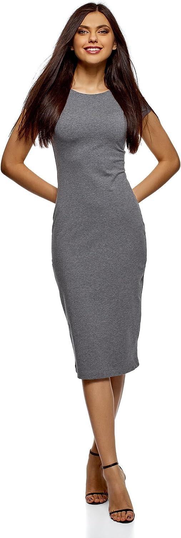 oodji Collection Mujer Vestido Midi (Pack de 2): Amazon.es: Ropa y ...