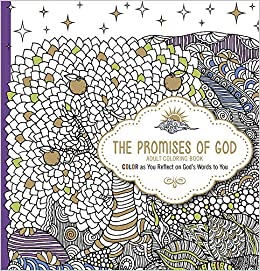 Amazon.com: The Promises of God - Adult Coloring Book: Color as ...