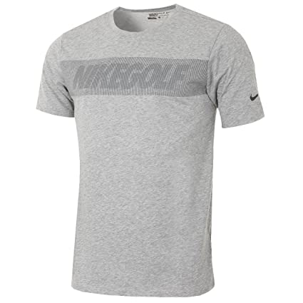 a43800ed9 Amazon.com: Nike Men's Graphic Golf T-Shirt (Dark Grey Heather) S: Sports &  Outdoors