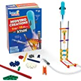 hand2mind Moving Creations with K'NEX, Book and Building Kit for Kids Ages 8-12, 9 Models & 18 Science Experiments…