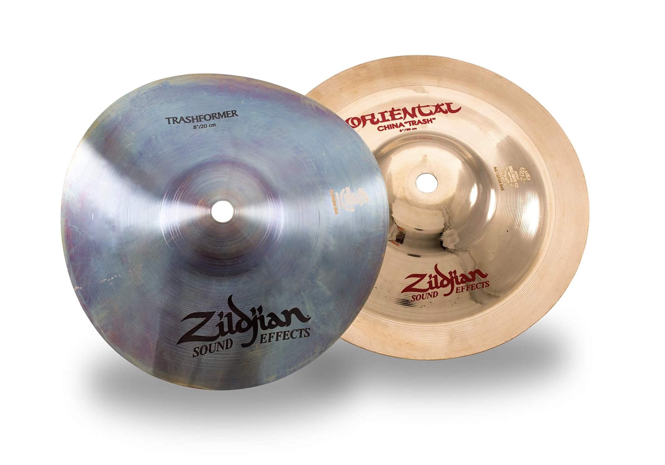 Zildjian PCS001 Cymbal Stack 8'' Trashformer and 8'' Oriental Trash China by Avedis Zildjian Company