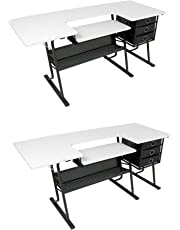 drafting tables amazon Home Electrical Wiring Diagrams studio designs eclipse hobby sewing arts crafts center table black white 2