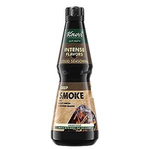 Knorr Professional Ultimate Intense Flavors Deep Smoke Liquid Seasoning Vegan, Gluten Free, 13.5 oz, Pack of 4